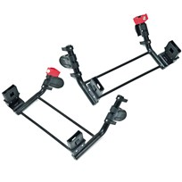 TFK Double Adapter Twin Trail Group 0 Black