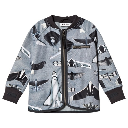 Molo Ulas Soft Shell Jacket Planes and Birds Planes and Birds