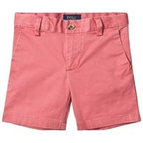 Ralph Lauren Red Stretch Chino Shorts Pink