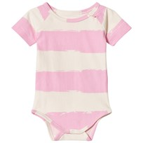Noe & Zoe Berlin Pink Stripe Baby Body ROSE STRIPE XL