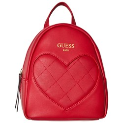 Guess Red Heart Backpack