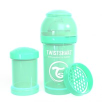 Twistshake Anti-Colic Baby Bottle 180 ml/6 oz Pastel Green Grøn
