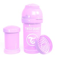 Twistshake Anti-Colic Baby Bottle 180 ml/6 oz Pastel Purple Purple