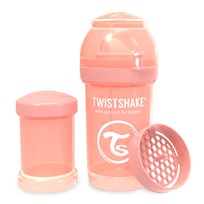 Twistshake Anti-Colic Baby Bottle 180 ml/6 oz Pastel Peach Peach