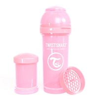 Twistshake Anti-Colic Baby Bottle 260 ml/8 oz Pastel Pink Posa