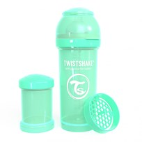 Twistshake Anti-Colic Baby Bottle 260 ml/8 oz Pastel Green Grøn