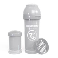 Twistshake Anti-Kolik Nappflaska 260 ml Pastellgrå Grey