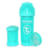 Twistshake Anti-Colic Baby Bottle 260 ml/8 oz Pastel Blue Blå