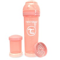 Twistshake Anti-Kolik Nappflaska 330 ml Pastel Peach Peach