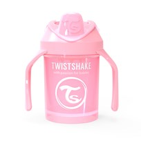 Twistshake Mini Cup 230 ml/7 oz (4+ m) Pastel Pink Pink