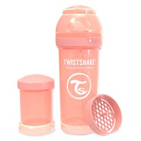 Twistshake Anti-Kolik Nappflaska 260 ml Pastel Peach Peach