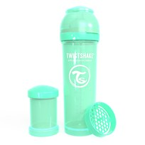 Twistshake Anti-Colic Baby Bottle 330 ml/11 oz Pastel Green Grøn