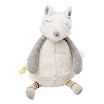 Moulin Roty Oko the Musical Dog Toy White