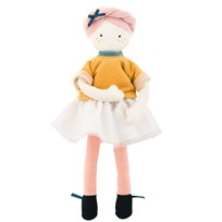 Moulin Roty Mademoiselle Eloise Doll Oranssi