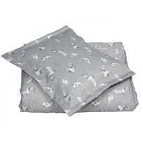 NG Baby Woods & Fairytales Junior Duvet Set Fairytale Grey Black