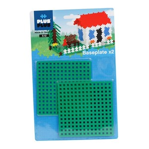 Image of Plus Plus Plus Plus MINI Building Plates 2-Pack 3 - 6 år (2952661763)