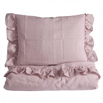 NG Baby Mood Ruffles Junior Duvet Set Rose Multi