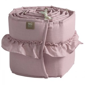 Image of NG Baby Mood Ruffles Bed Bumper Rose One Size (1029277)