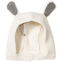 Stella McCartney Kids Cream Chips Knitted Bunny Hat 9232