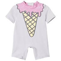 Stella McCartney Kids Sonny Ice Cream Baddräkt Pale Pink 5351