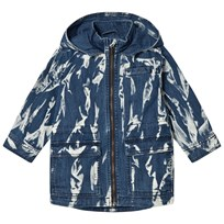 Stella McCartney Kids Navy Luciana Tie Dye Parka 4161