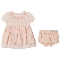 Stella McCartney Kids Pink Maria Tulle Dress and Bloomers 5768