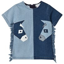 Stella McCartney Kids Denim Donkey Klänning Blå 4162