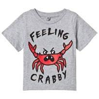 Stella McCartney Kids Grey Feeling Crabby Arlo Tee 1461
