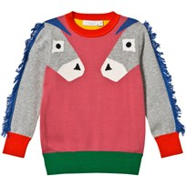 Stella McCartney Kids Lucky Donkey Tröja Rosa 5960