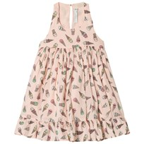 Stella McCartney Kids Pink Ice Cream Print Pip Klänning 5961