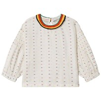 Stella McCartney Kids Cream Broderade Juliana Top 9232