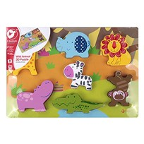 Classic World Wild animals 3D Puzzle Multi