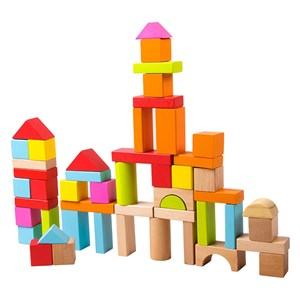 Image of Classic World Block Set in 50 Blocks 12 months - 3 years (2890588017)