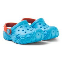 Crocs Blue and Orange Swiftwater Clogs 4GQ Blue/Tangerine