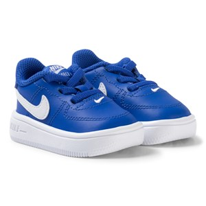 Image of NIKE Air Force 1 Infant Sneakers Blue 17 (UK 1.5) (2890588965)