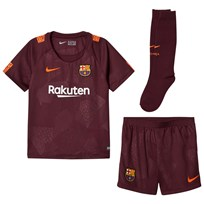 Barcelona FC Barcelona FC ´17 3rd Team Kit NIGHT MAROON/HYPER CRIMSON
