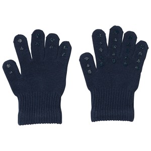 Image of GoBabyGo Grip Gloves Petroleum Blue 80/86 cm (3125238551)