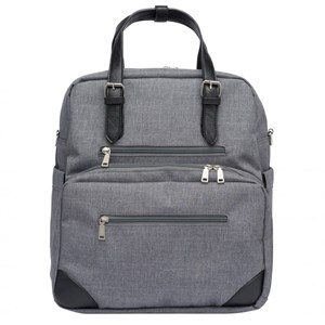 Image of Tinkafu Grey Diaper Bag (3056057713)