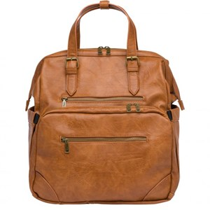 Image of Tinkafu Changing Bag Cognac Square (3009436585)