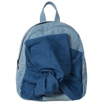 Stella McCartney Kids Blue Denim Blair Bow Backpack 4162