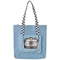 Stella McCartney Kids Blue Denim Camera Caprice Bag 4160