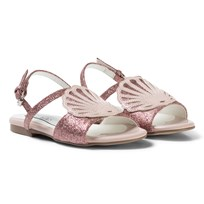 Stella McCartney Kids Pink Penny Shell Sandals 5768
