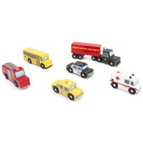 Le Toy Van New York Car Set Multi