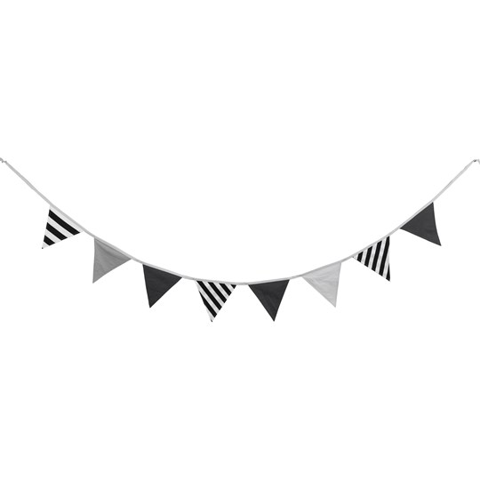 Kids Concept Bunting Black/Grey Multi