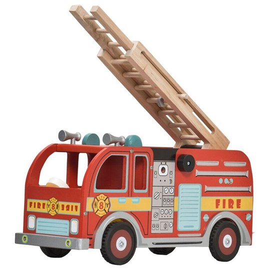 Le Toy Van Red Fire Engine Set Red