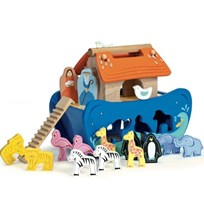 Le Toy Van Noah´s Shape Sorter Blue