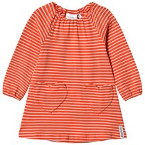 Geggamoja Singoalla Dress Orange/Beige L.orange/beige