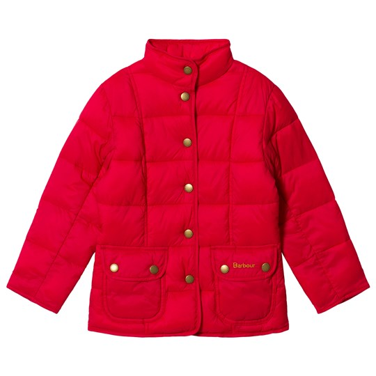 Barbour Moorfoot Quiltad Jacka Raspberry PI71