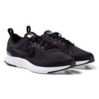 NIKE Black and White Dualtone Racer Shoes 009