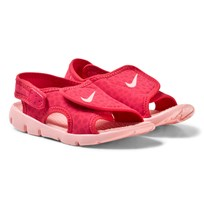 NIKE Tropical Pink Nike Sunray Toddler Sandals 608
